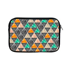 Abstract Geometric Triangle Shape Apple iPad Mini Zipper Cases