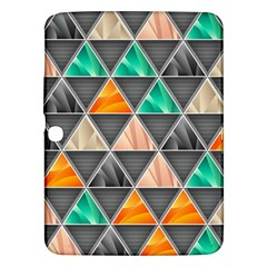 Abstract Geometric Triangle Shape Samsung Galaxy Tab 3 (10 1 ) P5200 Hardshell Case