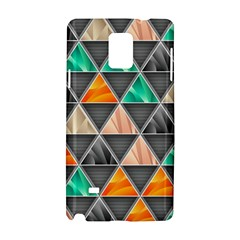 Abstract Geometric Triangle Shape Samsung Galaxy Note 4 Hardshell Case