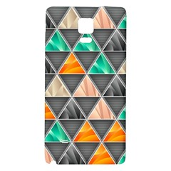 Abstract Geometric Triangle Shape Galaxy Note 4 Back Case