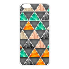 Abstract Geometric Triangle Shape Apple Seamless iPhone 6 Plus/6S Plus Case (Transparent)
