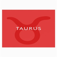 Zodizc Taurus Red Large Glasses Cloth (2-Side)