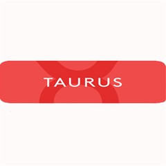 Zodizc Taurus Red Large Bar Mats