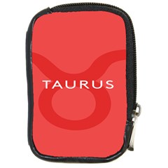 Zodizc Taurus Red Compact Camera Cases