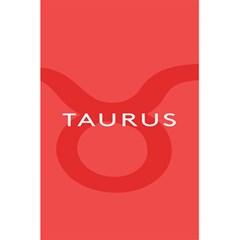 Zodizc Taurus Red 5.5  x 8.5  Notebooks