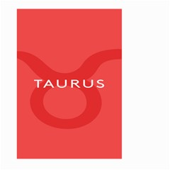 Zodizc Taurus Red Large Garden Flag (Two Sides)