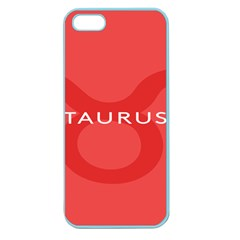 Zodizc Taurus Red Apple Seamless iPhone 5 Case (Color)