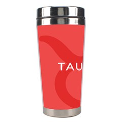 Zodizc Taurus Red Stainless Steel Travel Tumblers