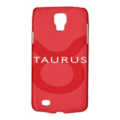 Zodizc Taurus Red Galaxy S4 Active