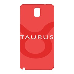 Zodizc Taurus Red Samsung Galaxy Note 3 N9005 Hardshell Back Case