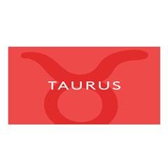 Zodizc Taurus Red Satin Shawl