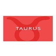 Zodizc Taurus Red Satin Wrap