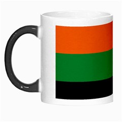 Color Green Orange Black Morph Mugs