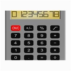Calculator Small Glasses Cloth