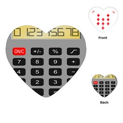Calculator Playing Cards (Heart)