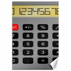 Calculator Canvas 20  x 30