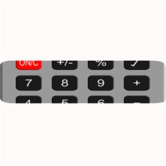 Calculator Large Bar Mats
