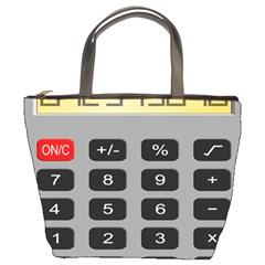 Calculator Bucket Bags