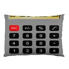 Calculator Pillow Case (Two Sides)