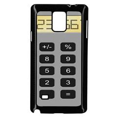 Calculator Samsung Galaxy Note 4 Case (Black)