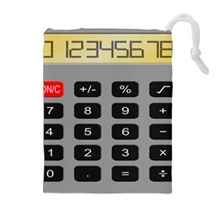 Calculator Drawstring Pouches (Extra Large)