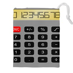 Calculator Drawstring Pouches (XXL)