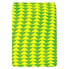 Arrow Triangle Green Yellow Flap Covers (L)