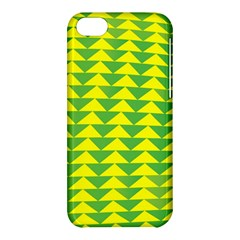 Arrow Triangle Green Yellow Apple iPhone 5C Hardshell Case
