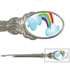 Could Rainbow Red Yellow Green Blue Purple Letter Openers