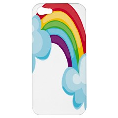 Could Rainbow Red Yellow Green Blue Purple Apple iPhone 5 Hardshell Case