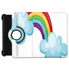 Could Rainbow Red Yellow Green Blue Purple Kindle Fire HD 7