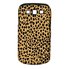 Cheetah Skin Spor Polka Dot Brown Black Dalmantion Samsung Galaxy S III Classic Hardshell Case (PC+Silicone)
