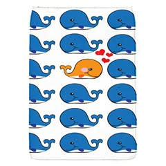 Fish Animals Whale Blue Orange Love Flap Covers (S)