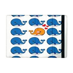 Fish Animals Whale Blue Orange Love iPad Mini 2 Flip Cases