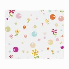 Flower Floral Star Balloon Bubble Small Glasses Cloth (2-Side)