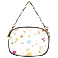 Flower Floral Star Balloon Bubble Chain Purses (Two Sides)