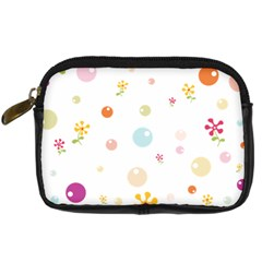 Flower Floral Star Balloon Bubble Digital Camera Cases