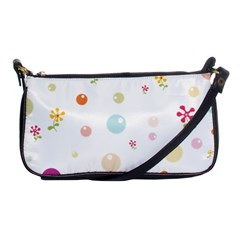 Flower Floral Star Balloon Bubble Shoulder Clutch Bags
