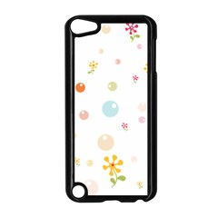 Flower Floral Star Balloon Bubble Apple iPod Touch 5 Case (Black)