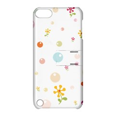 Flower Floral Star Balloon Bubble Apple iPod Touch 5 Hardshell Case with Stand