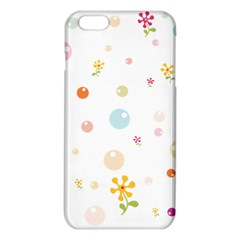 Flower Floral Star Balloon Bubble iPhone 6 Plus/6S Plus TPU Case