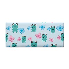 Frog Green Pink Flower Cosmetic Storage Cases