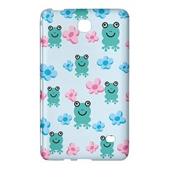 Frog Green Pink Flower Samsung Galaxy Tab 4 (7 ) Hardshell Case
