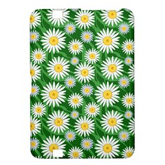Flower Sunflower Yellow Green Leaf White Kindle Fire HD 8.9