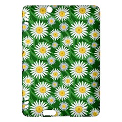 Flower Sunflower Yellow Green Leaf White Kindle Fire HDX Hardshell Case