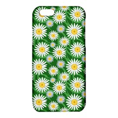 Flower Sunflower Yellow Green Leaf White iPhone 6/6S TPU Case