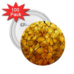 Gold 2.25  Buttons (100 pack)