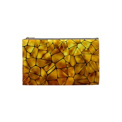 Gold Cosmetic Bag (Small)