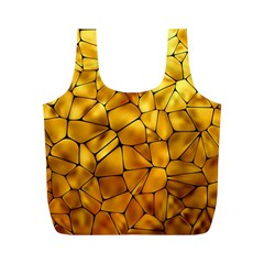 Gold Full Print Recycle Bags (m)