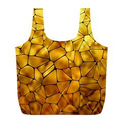 Gold Full Print Recycle Bags (L)
